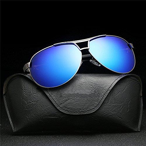 gafas gafas de al tendencia Gafas de protección sol hombre de mujer C Gafas sol Gafas polarizadas sol aire sol libre de de y sol Gafas con hombre de RFVBNM A conducción UV 5OpqTvPwn