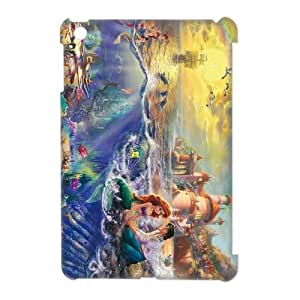 CTSLR The Little Mermaid Hard Case Cover Skin for iPad Mini and iPad Mini 2 Retina Display-1 Pack- 5