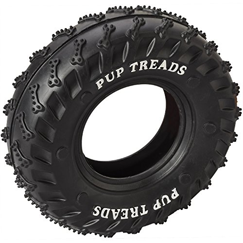 Ethical Pets 54337 Pup Treads Rubber Tire Pet Toys (Pup Treads Rubber)