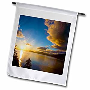 Danita Delimont - Sunsets - British Columbia, Vancouver, English Bay, Sunset-CN02 RCA0000 - Rob Casey - 18 x 27 inch Garden Flag (fl_75356_2)