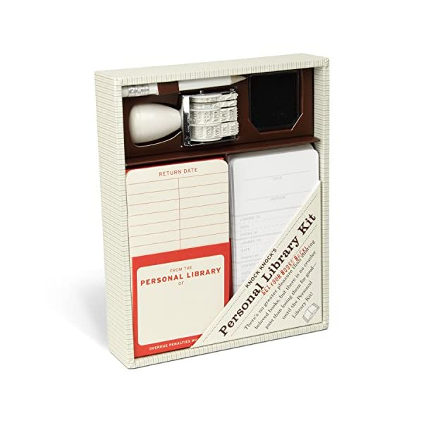 Kit de biblioteca personal de Knock Knock | Regalos para lectores - Letras y Latte