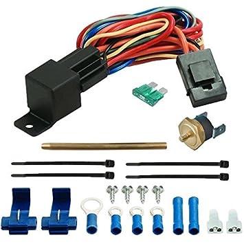 American V 180 F eléctrico ventilador Kit de interruptor de temperatura termostato sonda de push