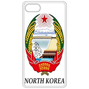 North Korea - Coat Of Arms Flag Emblem White Apple Iphone 5 Cell Phone Case - Cover
