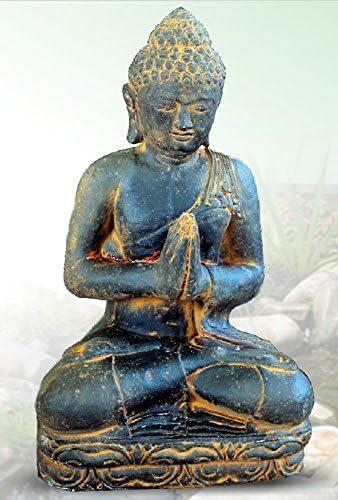 DEGARDEN AnaParra Figura Decorativa Buda de hormigón-Piedra para jardín o Exterior 83cm. Óxido: Amazon.es: Jardín