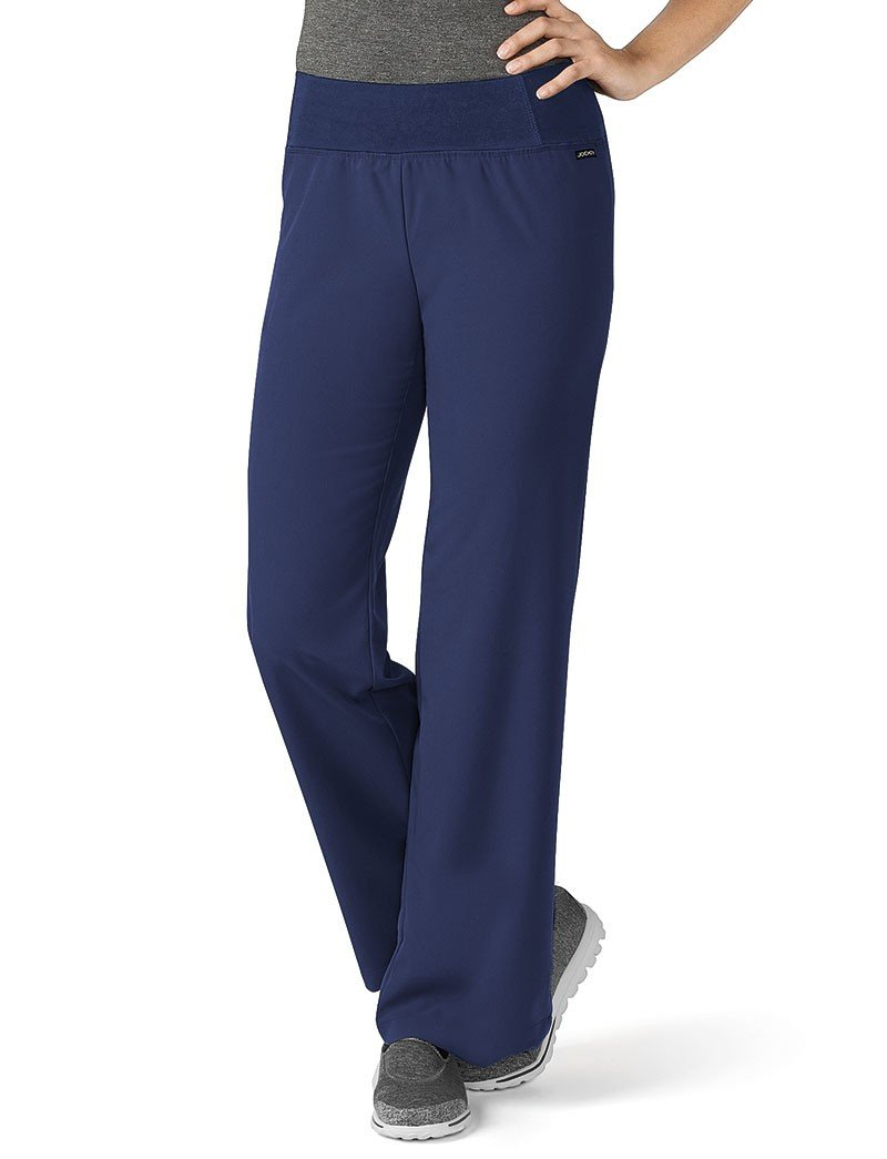 Modern Fit Collection By Jockey Women's Yoga Scrub Pant XX-Large New Navy