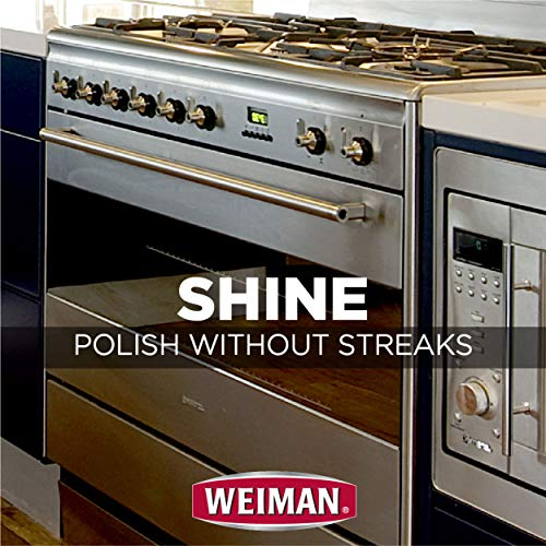 Weiman Stainless Steel Wipes - Removes Fingerprints, Residue, Water Marks and Grease from Appliances - Works Great on Refrigerators, Dishwashers, Ovens, Grills - 28 Count - Packaging May Vary