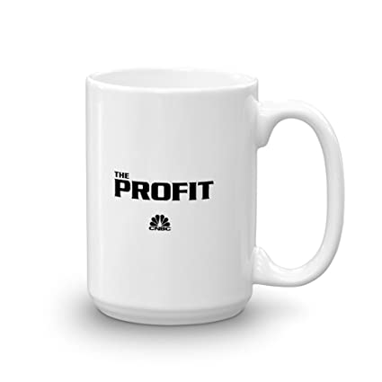 04e4ade49f5 Amazon.com: The Profit Logo 15oz White Mug - Official Coffee Mug: Kitchen &  Dining