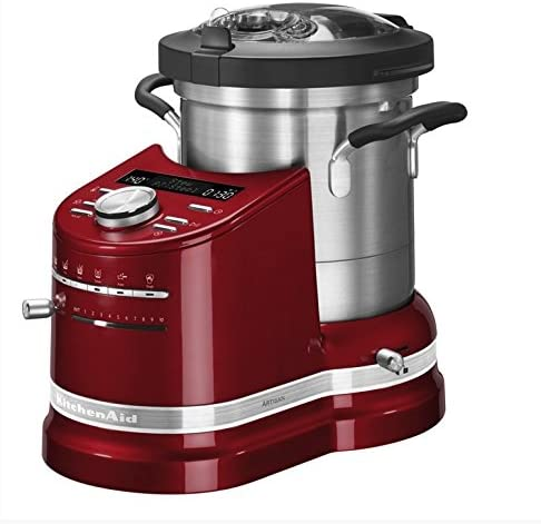 KitchenAid 5KCF0103EER/4 - Robot de cocina (4,5 L, Rojo, Botones, palanca, Giratorio, 2300 RPM, 1 m, Acero inoxidable): Amazon.es: Hogar
