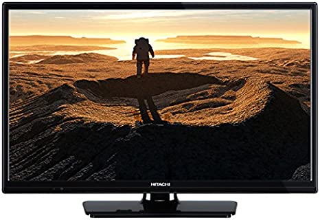 Hitachi 24hb4c05 Televisor 24 LCD Led HD Ready con USB, Vga, Hdmi Y Euroconector: Amazon.es: Electrónica