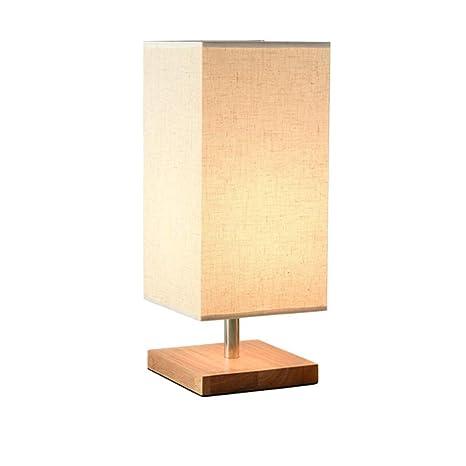 Chuen Lung Lámpara de cabecera, lámpara de mesa minimalista ...
