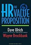 img - for The HR Value Proposition book / textbook / text book