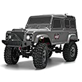 #10: RGT RC Cars 1/10 Scale Monster Truck Electric 4WD RC Car Off Road Rock Crawler Off-Road 2.4Ghz Remote Control RC Trucks 4x4 with Lights