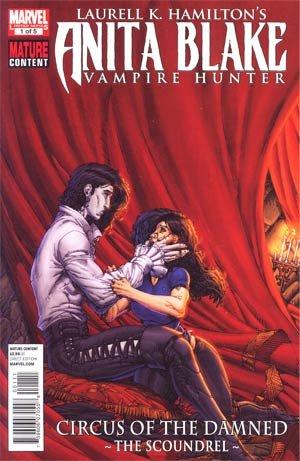 Read Online Anita Blake Vampire Hunter Circus Of The Damned Book 3 Scoundrel #1 pdf epub