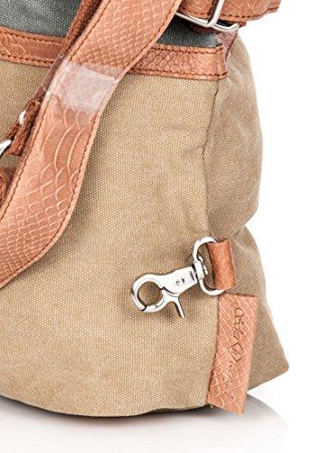 Schuhtzengel Jessie Handtasche 48 cm Light Denim Khaki