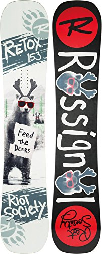 Rossignol Retox Snowboard 2018 - Men's 147cm (Rossignol Alpine Snowboard)