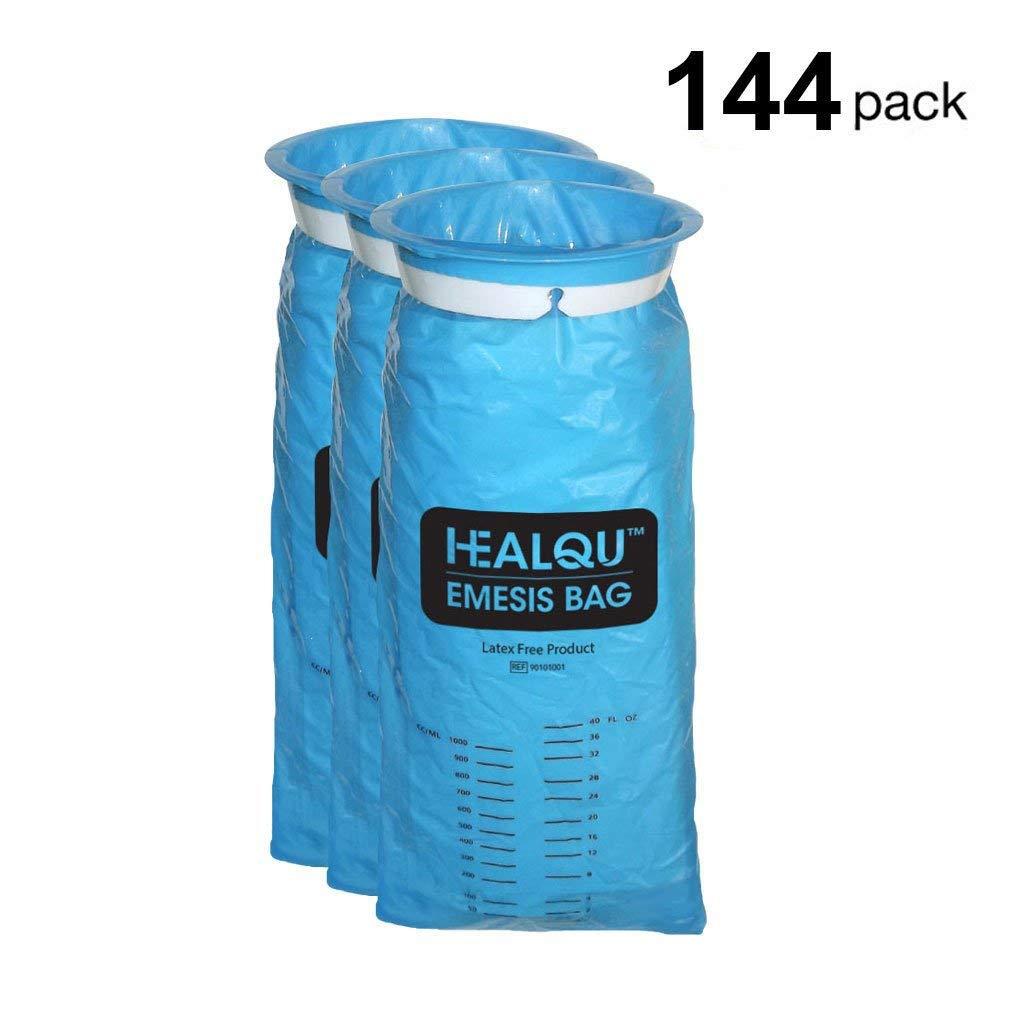 Amazon.com: 144 Pack emesis bolsas, desechables vomitar ...