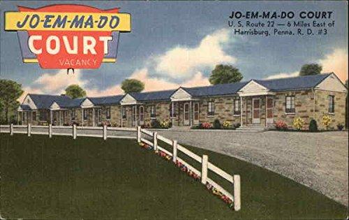 Jo-Em-Ma-Do Court Harrisburg, Pennsylvania Original Vintage - Do Ma