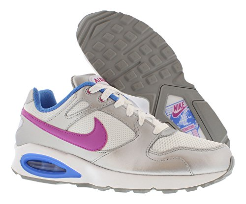 Nike Vrouwen Air Max Colosseum Rcr Loopschoen, Wit / Blauw, 8,5 Bm Ons