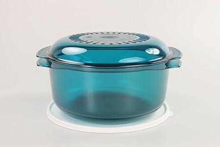 TUPPERWARE Micro Cook de 3,0 L turquesa: Amazon.es: Hogar