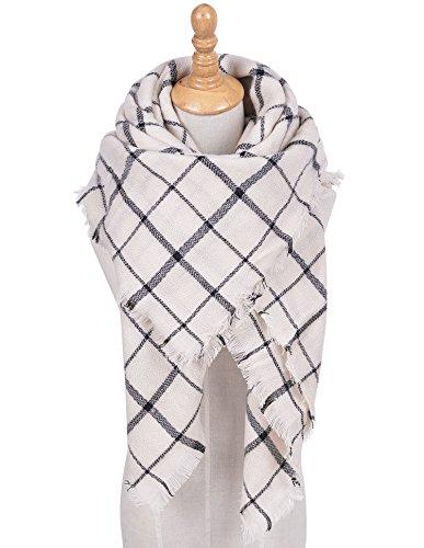 Zealmer Blanket Lattice Scarf Pashmina