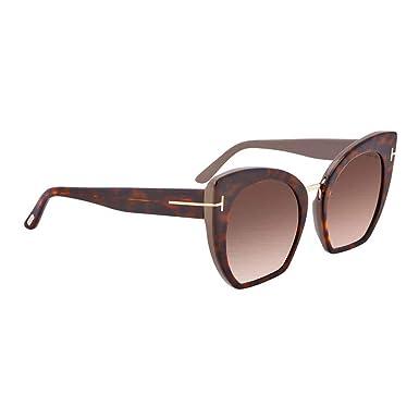 Amazon.com: anteojos de sol TOM FORD ft 0553 samantha- 02 56 ...