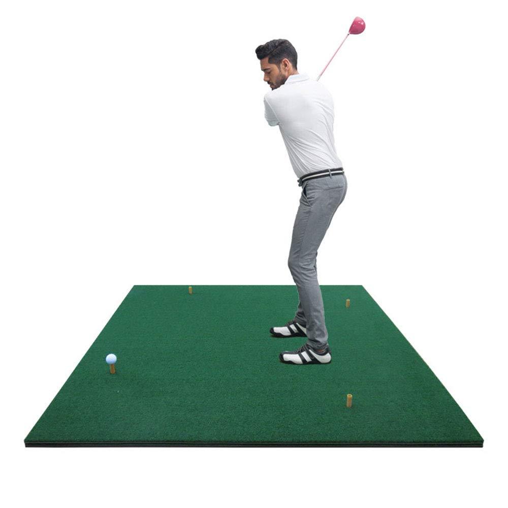 ゴルフ練習室内練習ボールマットパーソナルトレーニングマット(1.5m * 1.5m) B07L1LG4TS