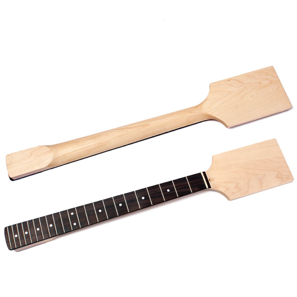 MagiDeal Exquisite Wood Unfinished Guitar Body + Neck Fretboard for Fender ST Electric Guitar DIY Parts by non-brand (Image #10)