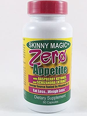 Zero Appetite 60 Capsules Decaf Appetite Control Weight Loss