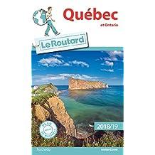 QUÉBEC ET ONTARIO 2018-2019 + PLAN DE VILLE