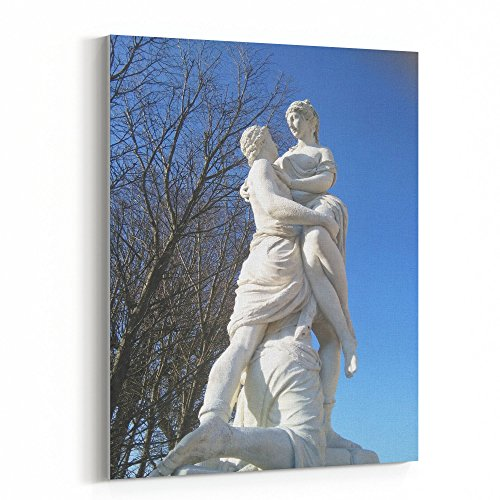 Westlake Art - Sculpture Carving - 16x20 Canvas Print Wall Art - Canvas Stretched Gallery Wrap Modern Picture Photography Artwork - Ready to Hang 16x20 Inch (D41D8) ()