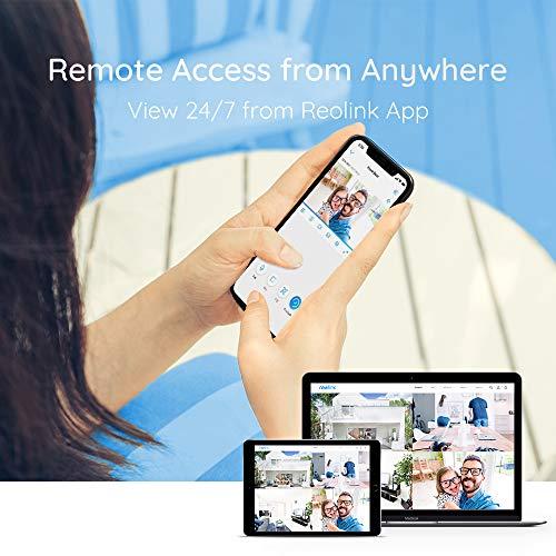 Reolink 8CH 5MP Überwachungskamera Set mit 4X 5MP PoE IP