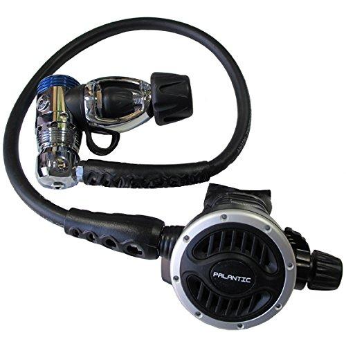 Scuba Choice Scuba Diving Palantic AS103 Yoke Regulator Adjustable Second Stage with 27'' Hose