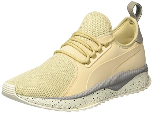 PUMA Men's Tsugi Apex Summer Sneaker, Pebble-Rock Ridge-Whisper White, 14 M US by PUMA