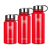 Best Water Filter Bottle Wide Mouth Vacuum Insulated Stainless Steel Water Bottle With Leak Proof Cap and Built-in Filter  Best Double Walled Travel Coffee Mug(Large & Small) for Outdoor Sports Camping,Keeps Drink Hot & Cold