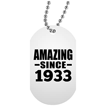 Birthday Gift Idea 86th Amazing Since 1933