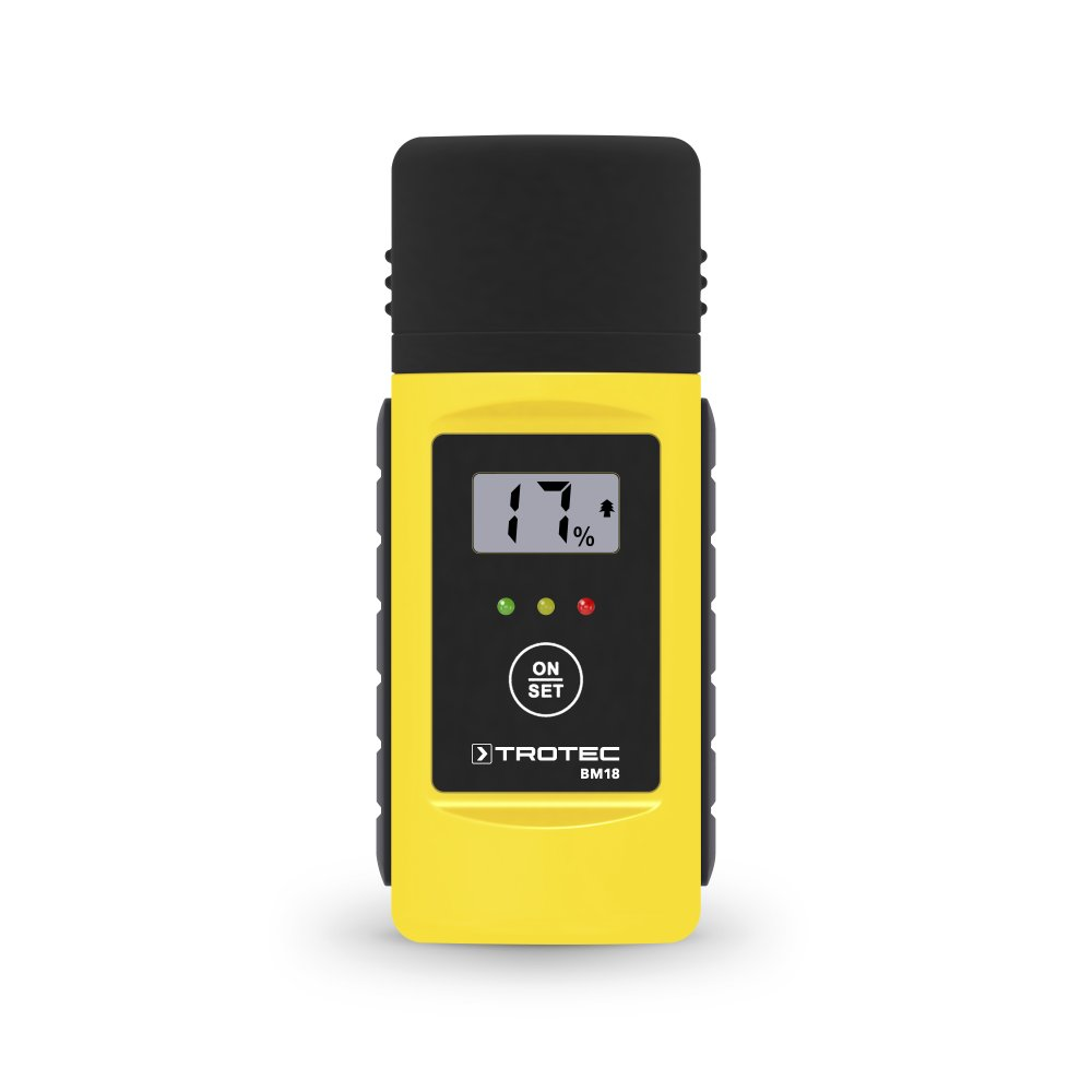 TROTEC BM18 Moisture Meter/Wood moisture and material moisture measurement