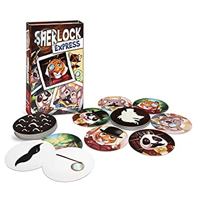 Blue Orange Sherlock Express: Toys & Games