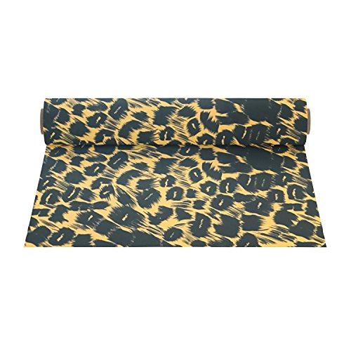 Firefly Craft Elastic Foil Leopard Print Heat Transfer Vinyl | Animal Print HTV Vinyl | Iron On Vinyl for Cricut and Silhouette | Heat Press Vinyl for Shirts - 12