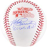 Mike Schmidt Philadelphia Phillies Autographed 1980 World Series Logo Baseball with 1980 WS MVP Inscription - Fanatics Authentic Certified