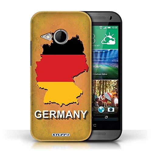 Kobalt® Imprimé Etui / Coque pour HTC One/1 Mini 2 / Allemagne/Allemand conception / Série Drapeau Pays