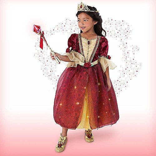 belle red dress disney - 3