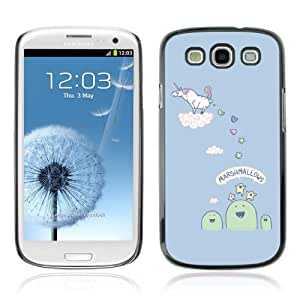 YOYOSHOP [Funny Unicorn Making Candy] Samsung Galaxy S3 Case