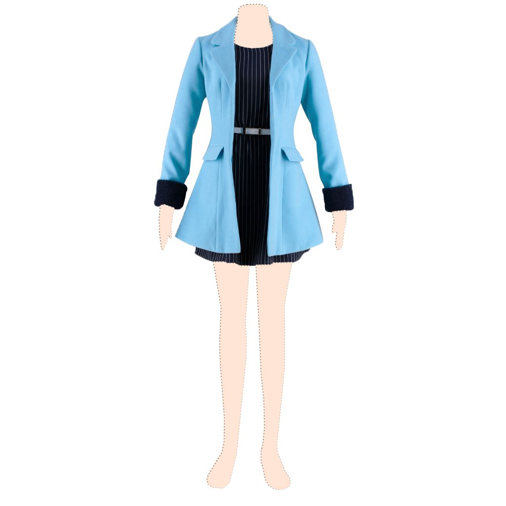 loveliveEli Ayase 2nd ver-winter casual clothes-mobile game series X-Small