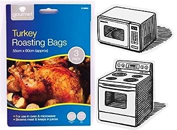 Tamaño grande de Turquía para el horno bolsas para ...