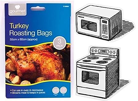 Tamaño grande de Turquía para el horno bolsas para microondas y ...