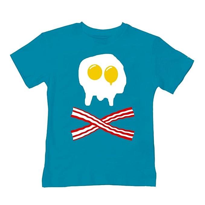 Molde para huevos y BACON diseño de calavera y de calavera - bebé/infantil con diseño de summer T-camiseta de manga corta de Ice-tees: Amazon.es: Ropa y ...