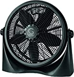 Avalon Adjustable Table Fan or Floor Fan - 20 Inch - 360 Degree Vertical Tilt, Durable