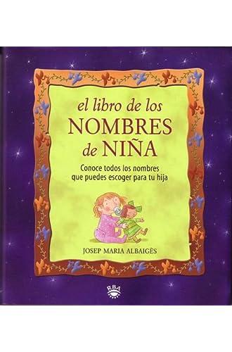El Libro De Los Nombres De Niñas