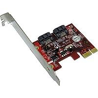 Addonics 2-port SATA PCI Express 2.0 x1 Controller2 x 7-pin Serial ATA/600 Serial ATA Internal AD2SA6GPX1
