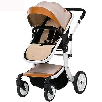 Olydmsky Carro Bebe,Cochecito de bebé Puede ser Mentira Paisaje Plano Alto Mesa sombrilla Coche Ligero para niños Plegable: Amazon.es: Hogar